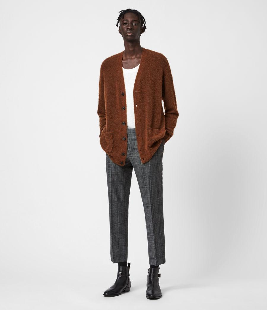 Men's Varley Cardigan (cinnamon_brown) - Image 4