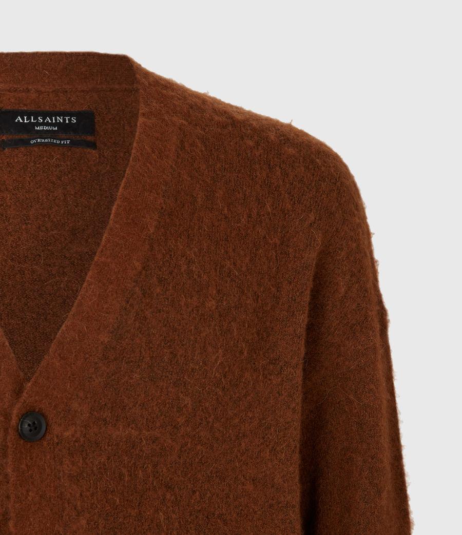 Men's Varley Cardigan (cinnamon_brown) - Image 5