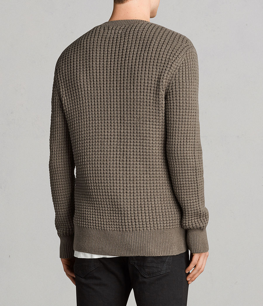 Mens Kee Crew Sweater (olive_green) - Image 4