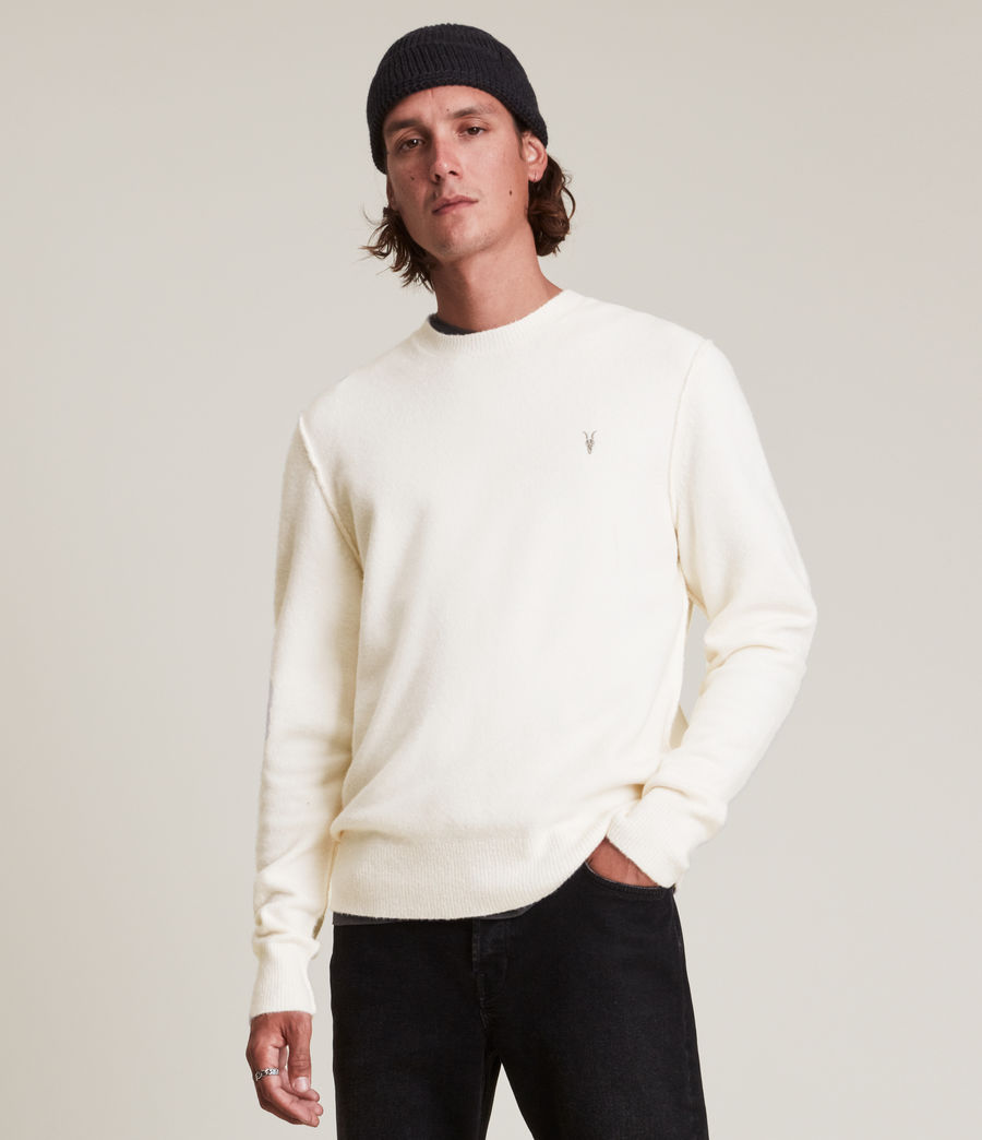 Men's Statten Crew Jumper (cloudy_taupe) - Image 2