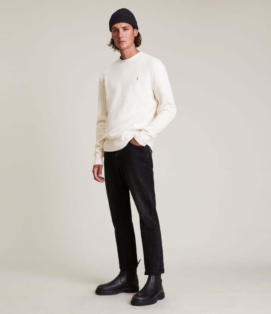 Men's Statten Crew Jumper (cloudy_taupe) - Image 3