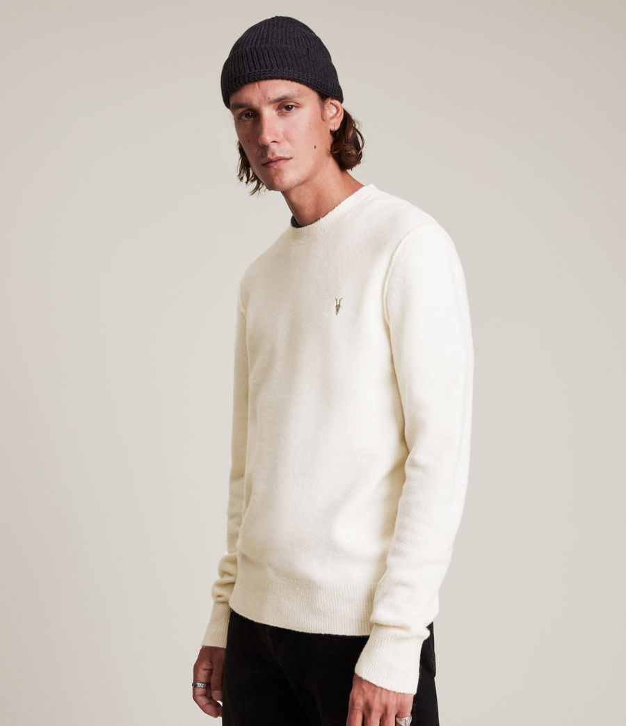 Men's Statten Crew Jumper (cloudy_taupe) - Image 4
