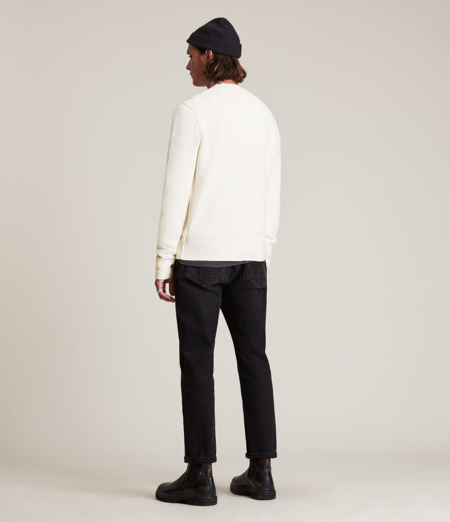 Men's Statten Crew Jumper (cloudy_taupe) - Image 5