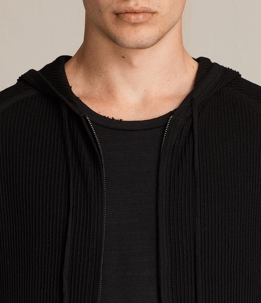 Uomo Felpa con cappuccio Terrum (black) - Image 2