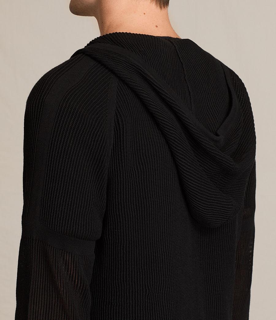 Uomo Felpa con cappuccio Terrum (black) - Image 5