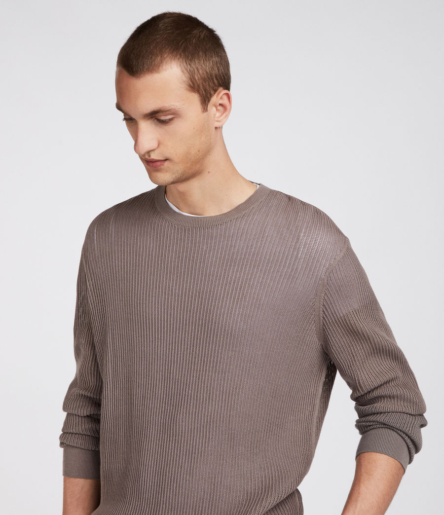 Men's Ave Crew Jumper (slate_grey) - Image 2