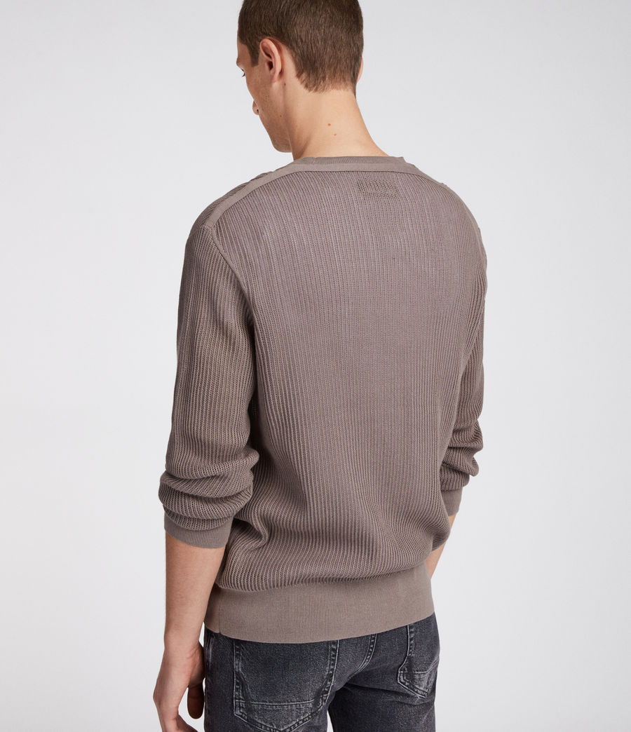 Men's Ave Crew Jumper (slate_grey) - Image 4