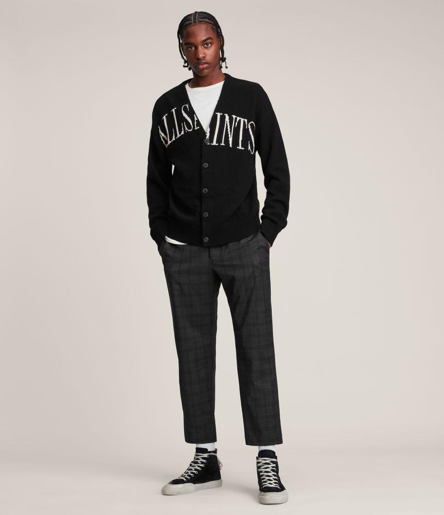 Men's Split Saints Cardigan (black) - Image 5