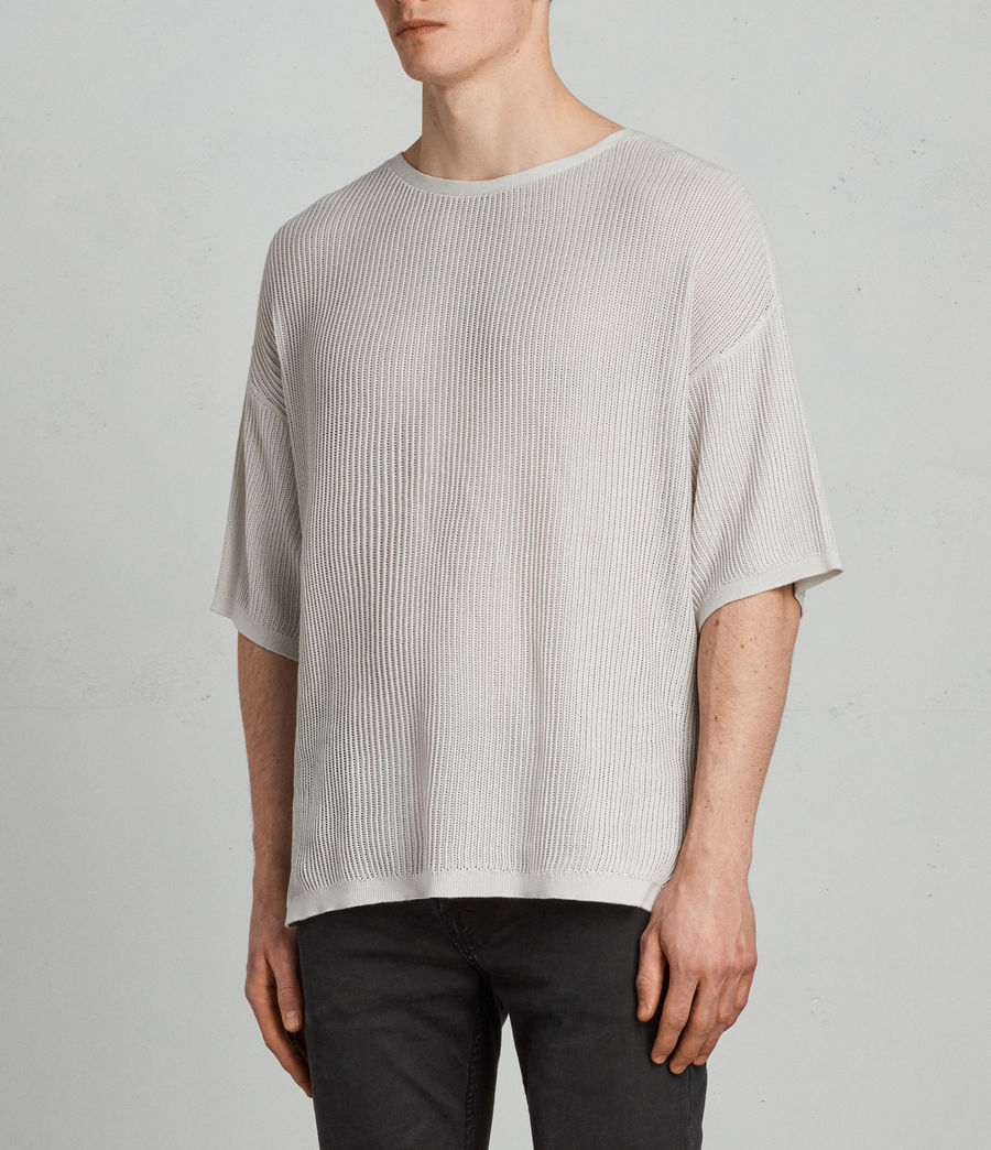 Men's Ave Crew Knit Top (grain_white) - Image 3