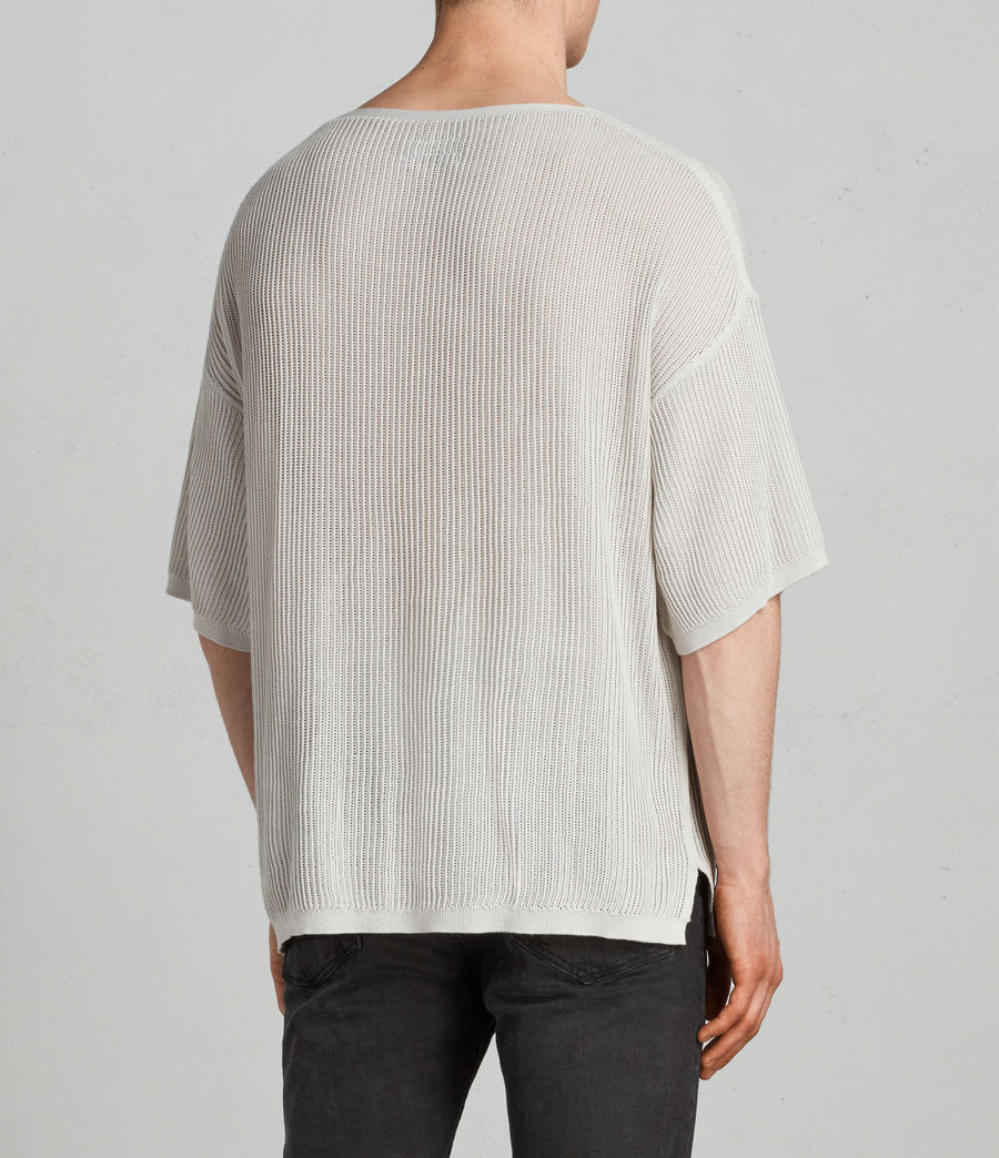 Uomo T-shirt Ave (grain_white) - Image 4