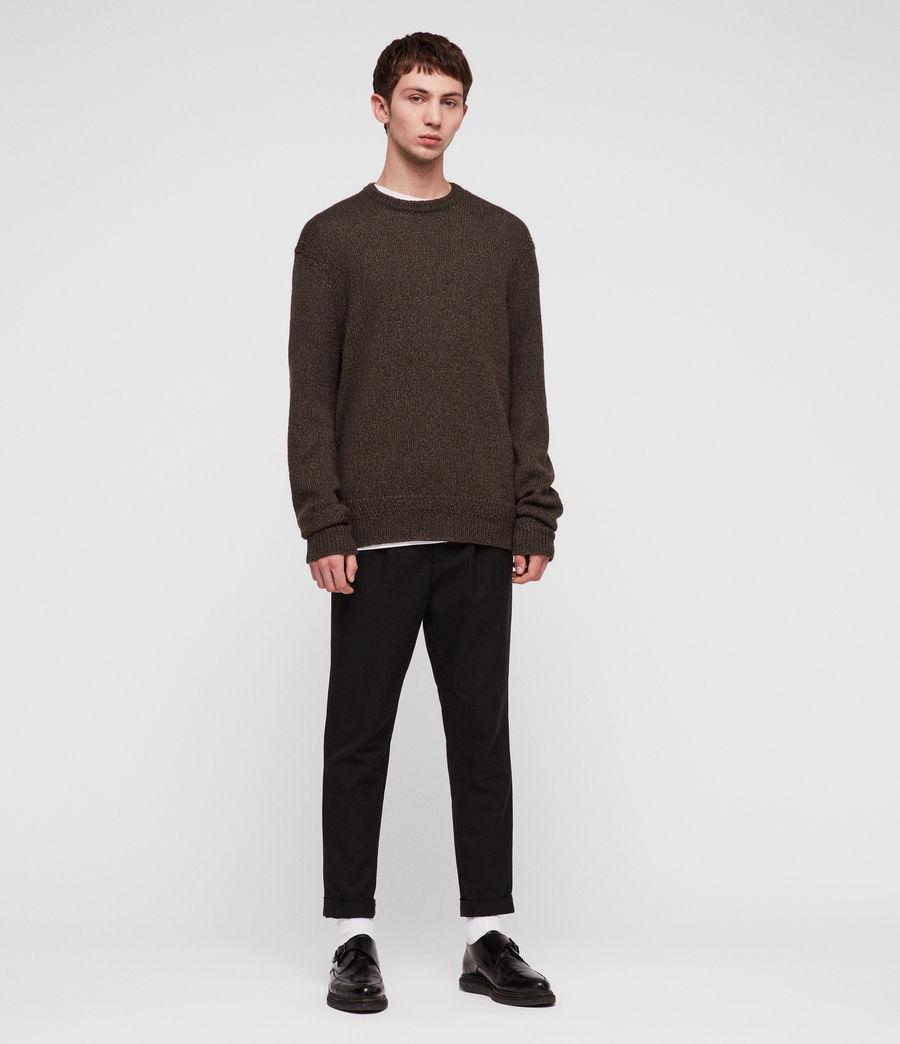 Mens Ektan Crew Sweater (khaki_brown) - Image 3