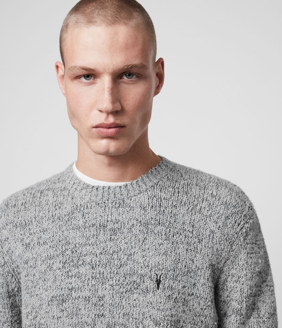 Herren Spire Pullover (grey_marl_black) - Image 2