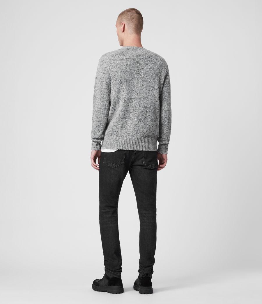 Herren Spire Pullover (grey_marl_black) - Image 4