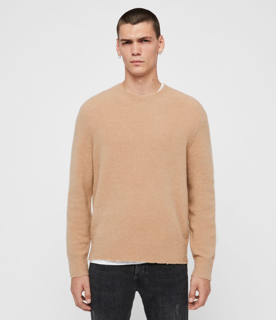 Men's Kez Crew Jumper (black) - Image 1