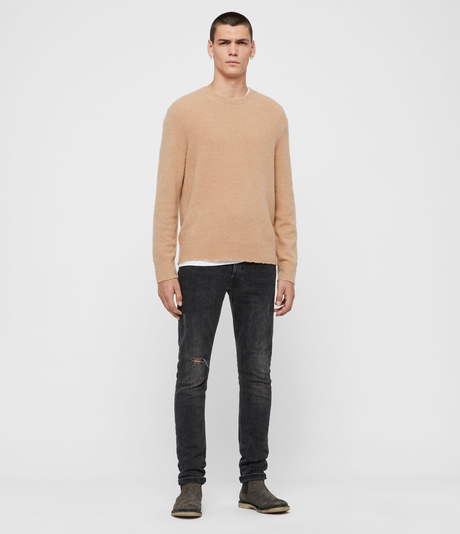 Men's Kez Crew Jumper (tin_grey_marl) - Image 3