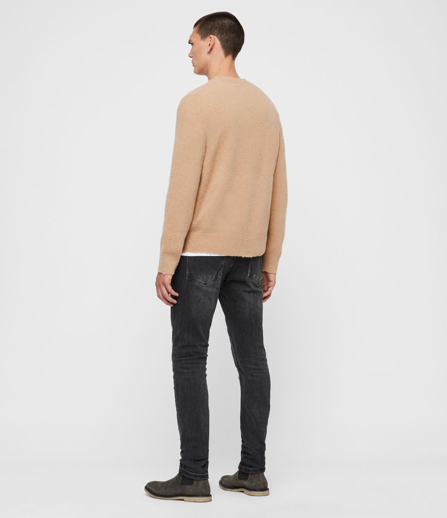 Men's Kez Crew Jumper (tin_grey_marl) - Image 5