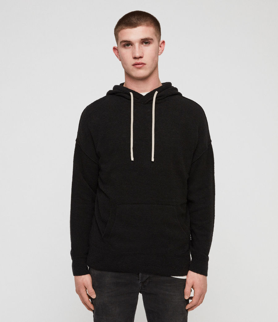 Men's Ridge Hoodie (black) - Image 1