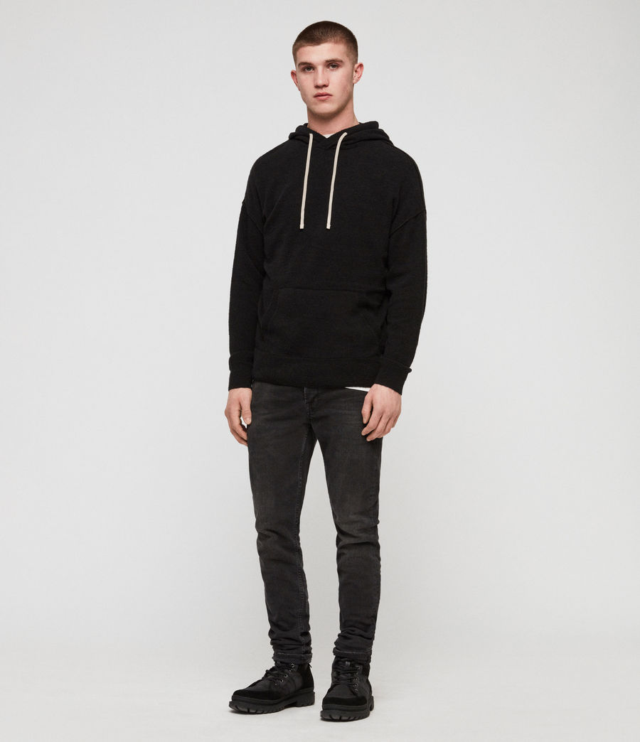 Men's Ridge Hoodie (black) - Image 2