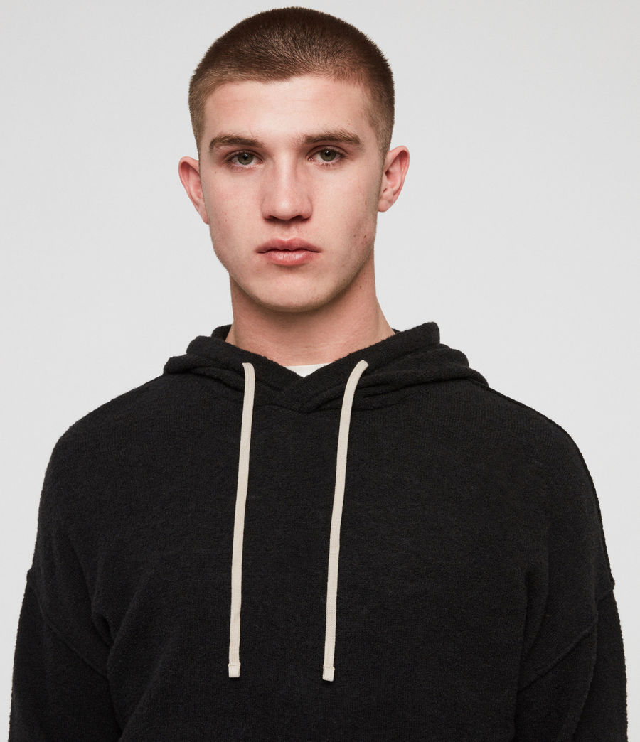 Men's Ridge Hoodie (black) - Image 3