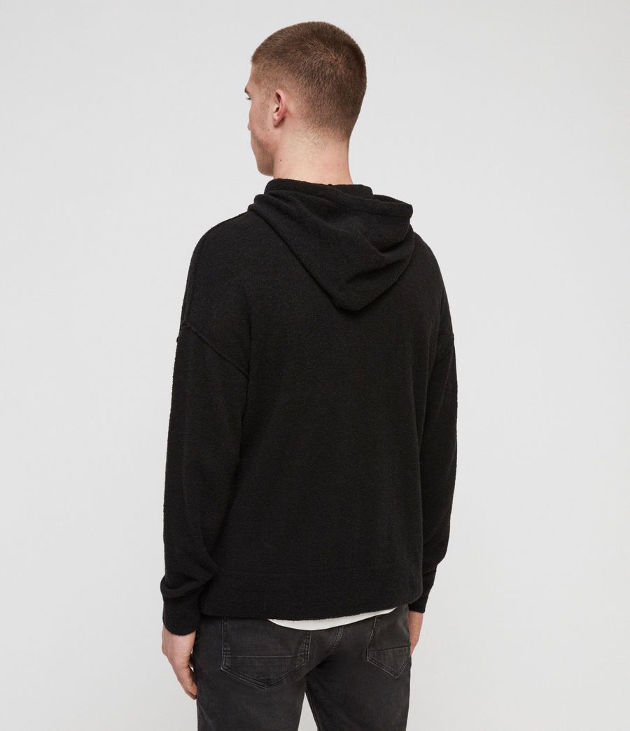 Men's Ridge Hoodie (black) - Image 4