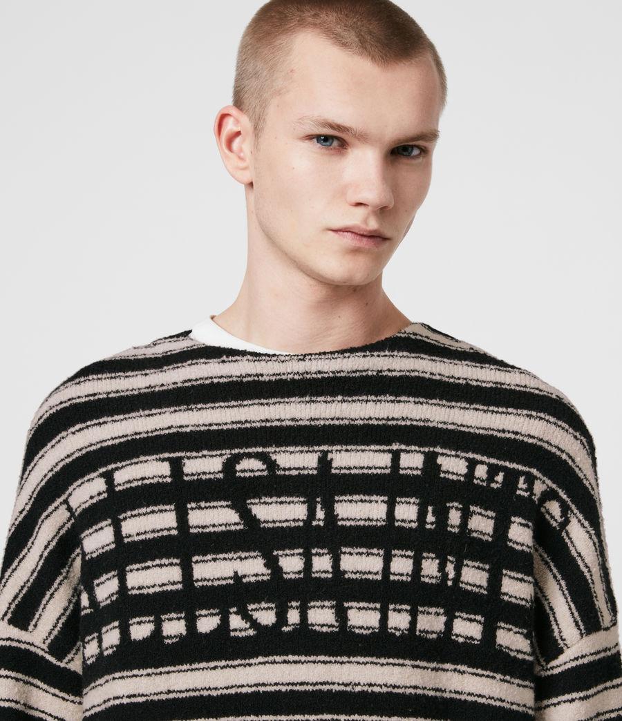 Hombre Rivven Saints Crew Sweater (ecru_black) - Image 2