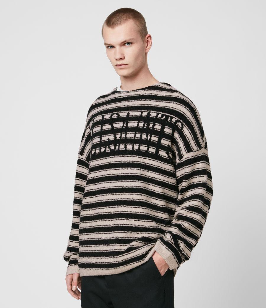 Hombre Rivven Saints Crew Sweater (ecru_black) - Image 3