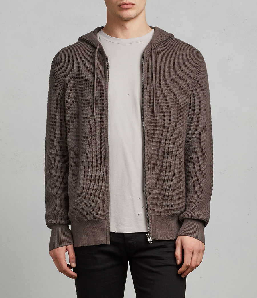 Men's Mert Zip Hoodie (slate_grey) - Image 1
