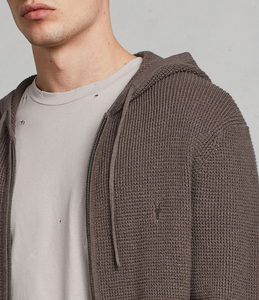 Men's Mert Zip Hoodie (slate_grey) - Image 2