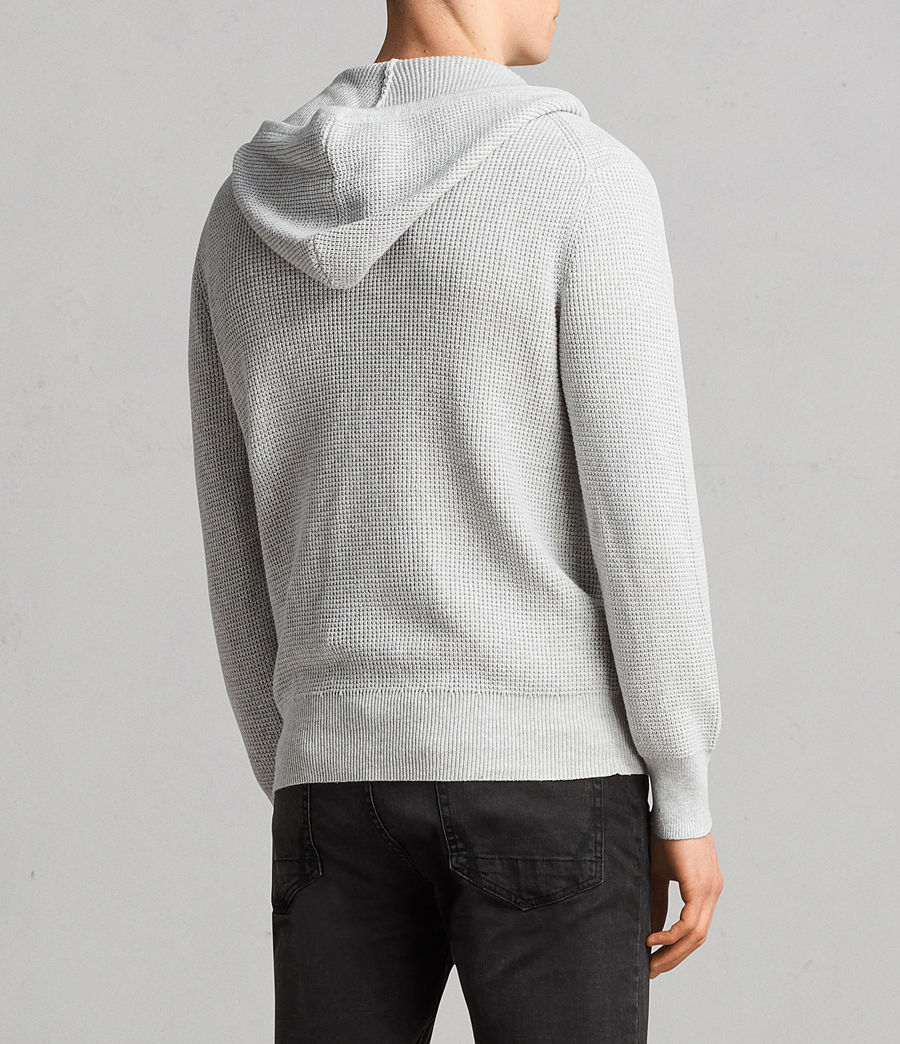 Men's Mert Knitted Zip Hoody (march_grey_marl) - Image 2