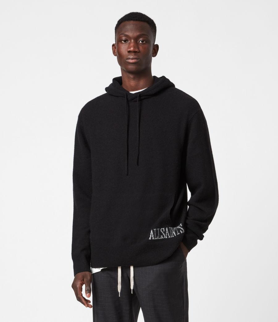 Mens Frame Hoodie (black) - Image 1