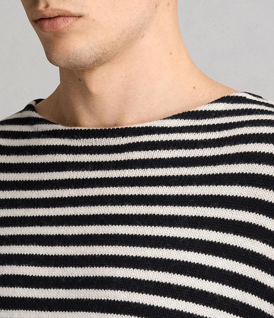 Hombres Jersey Marcel (inknavy_ecruwhite) - Image 2