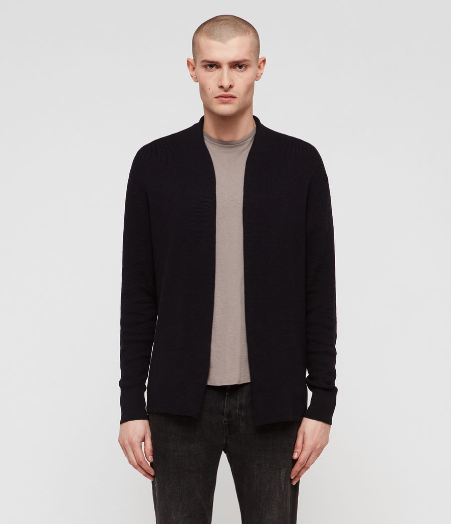 Men's Renzo Cardigan (ink_navy) - Image 1