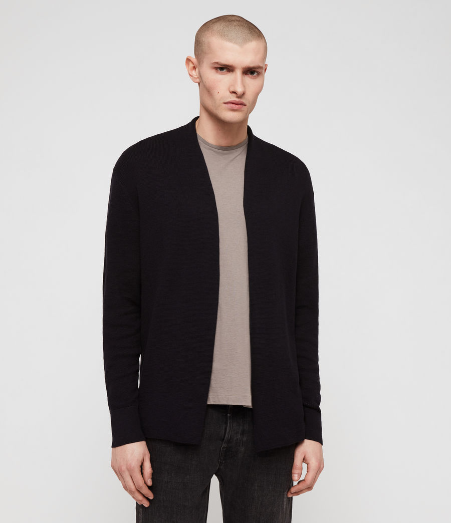 Men's Renzo Cardigan (ink_navy) - Image 3