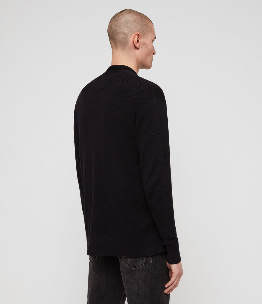 Men's Renzo Cardigan (ink_navy) - Image 4