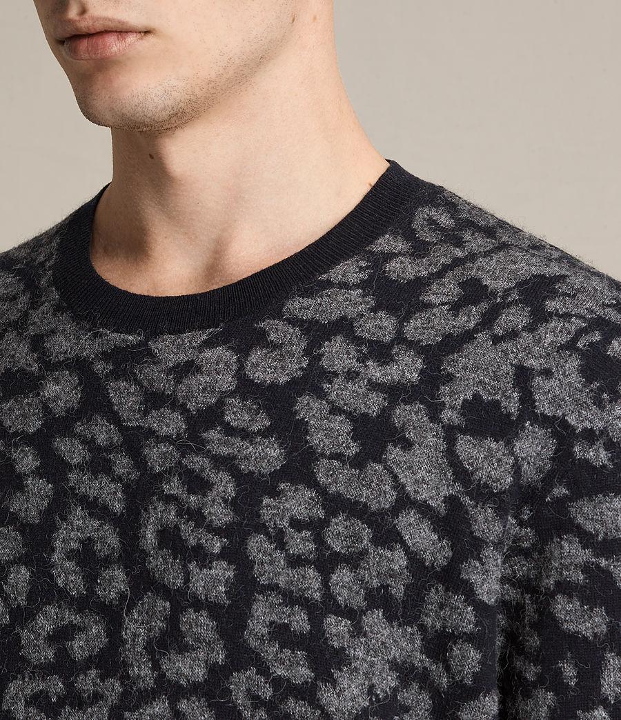 Mens Dima Crew Sweater (ink_navy) - Image 2