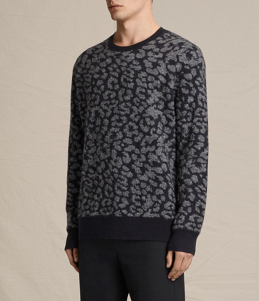 Mens Dima Crew Sweater (ink_navy) - Image 3