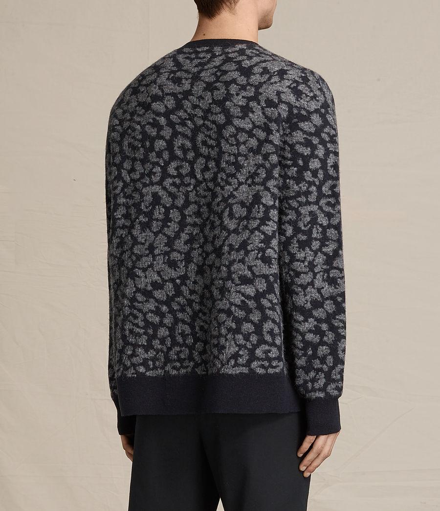 Mens Dima Crew Sweater (ink_navy) - Image 4