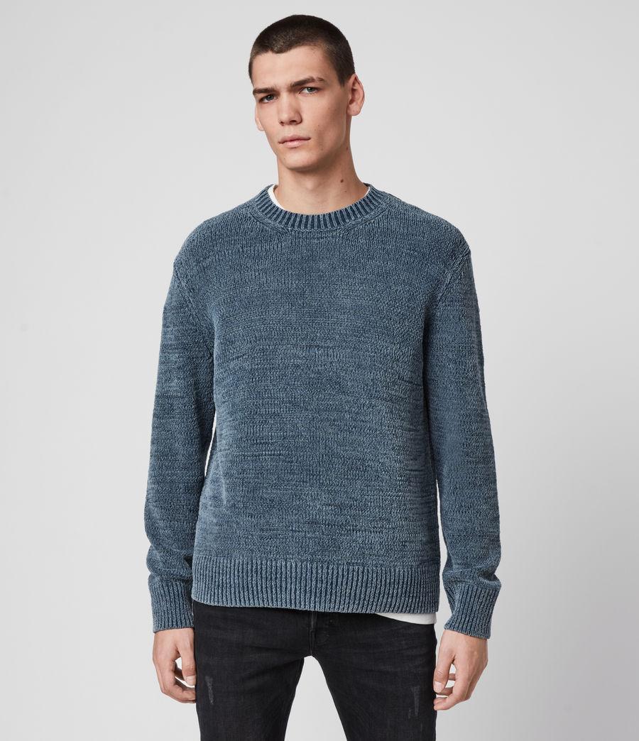 Mens Isumi Crew Sweater (indigo_blue) - Image 1
