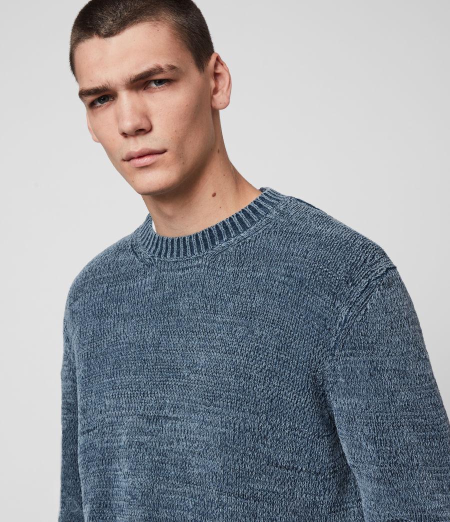 Mens Isumi Crew Sweater (indigo_blue) - Image 2