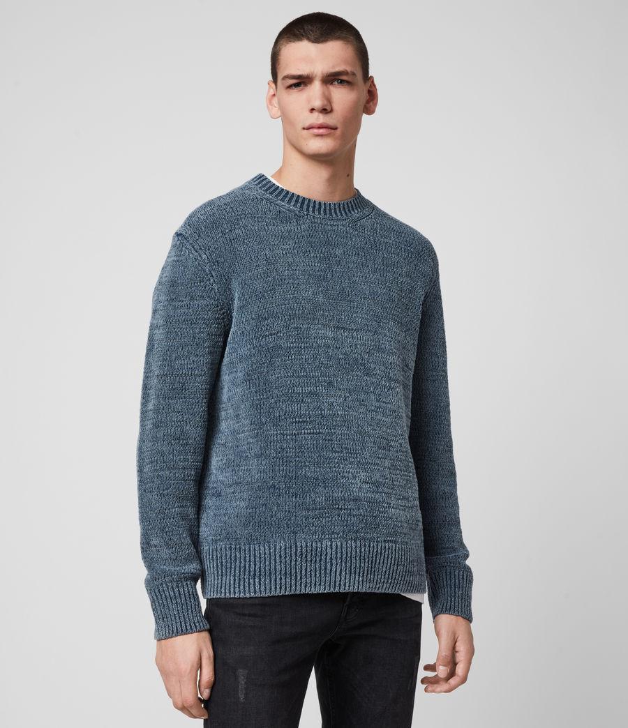 Mens Isumi Crew Sweater (indigo_blue) - Image 4
