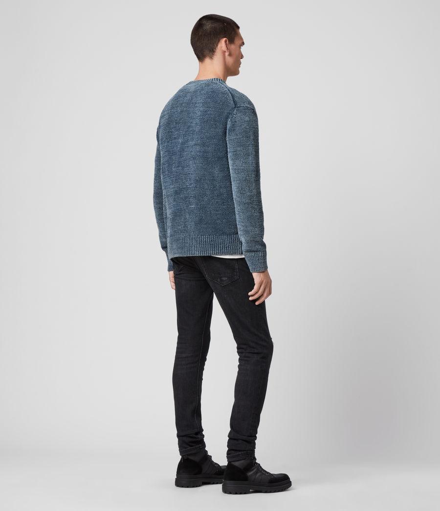 Mens Isumi Crew Sweater (indigo_blue) - Image 5