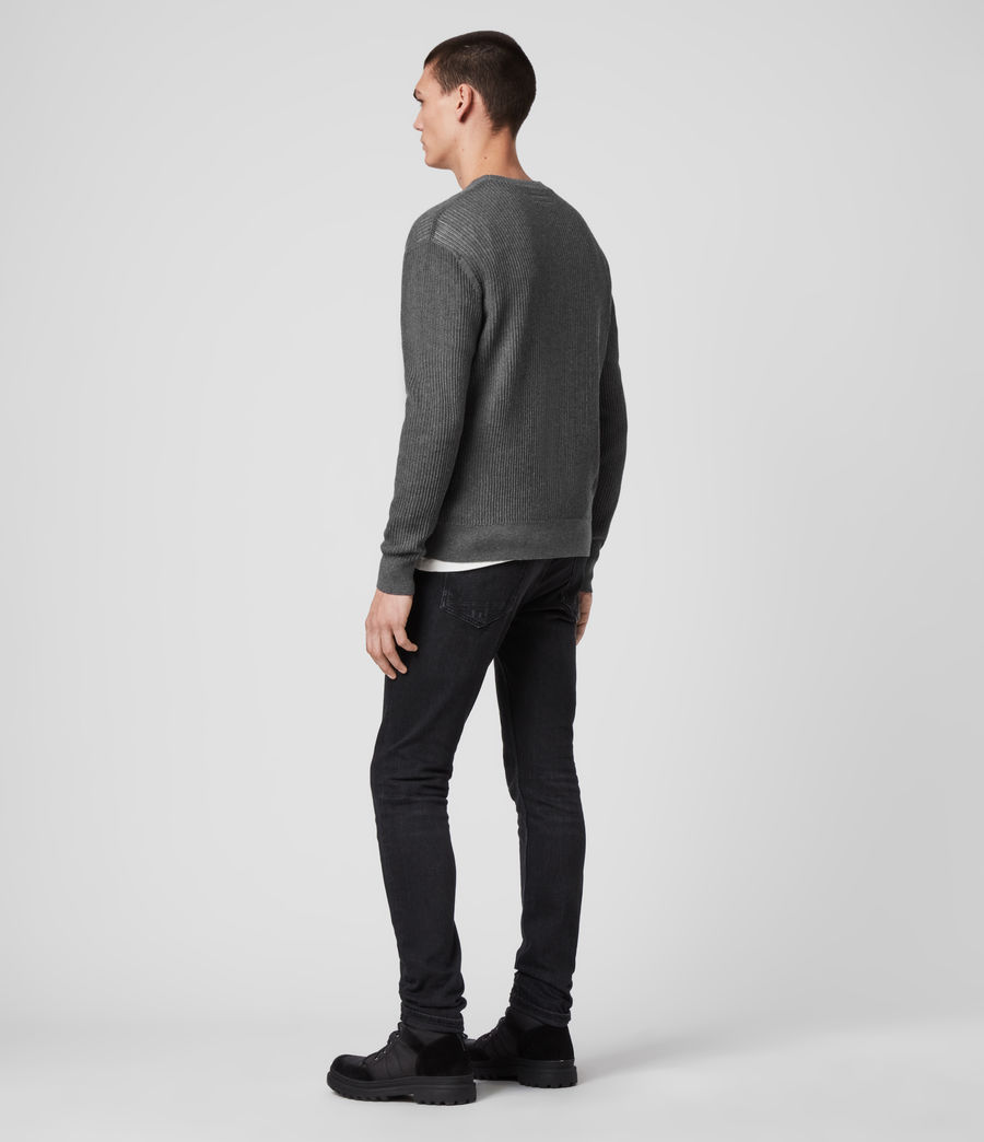 Men's Stad Crew Jumper (charcoal_marl) - Image 5