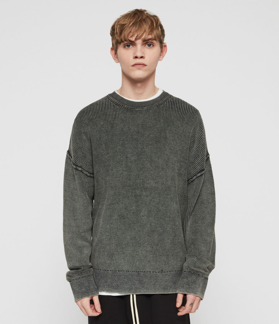 Uomo Maglione Bleach (washed_black) - Image 4