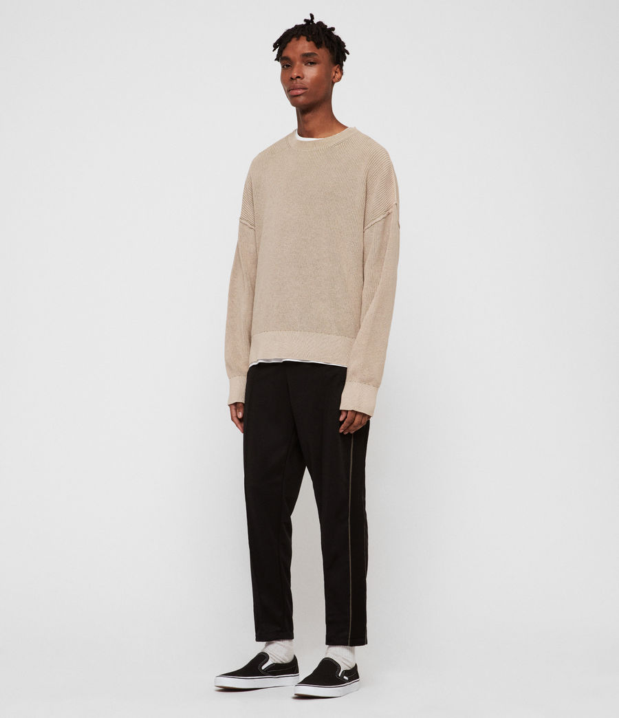Men's Bleach Crew Jumper (sutro_grey) - Image 2
