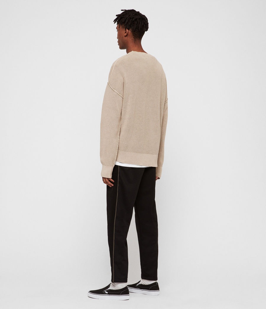 Men's Bleach Crew Jumper (sutro_grey) - Image 5