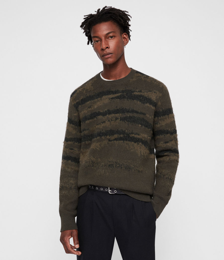 Mens Ture Crew Sweater (sandalwood_brown) - Image 1