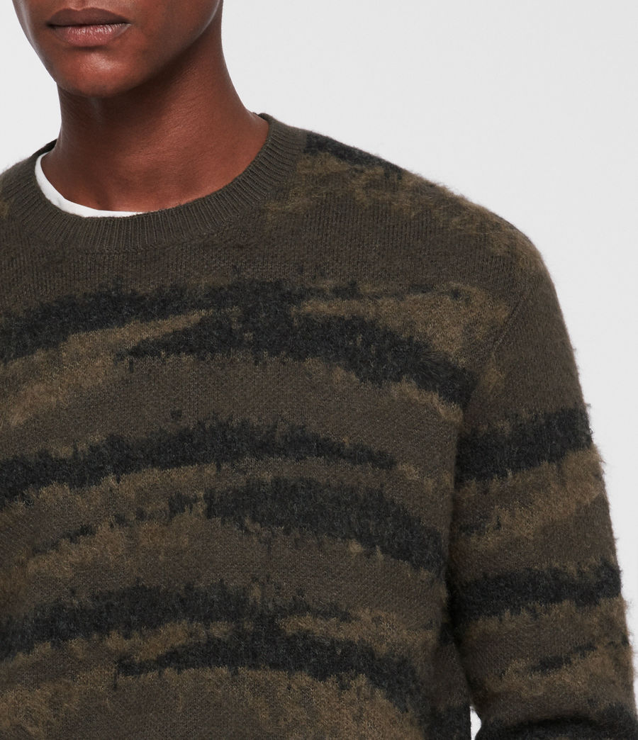 Mens Ture Crew Sweater (sandalwood_brown) - Image 2