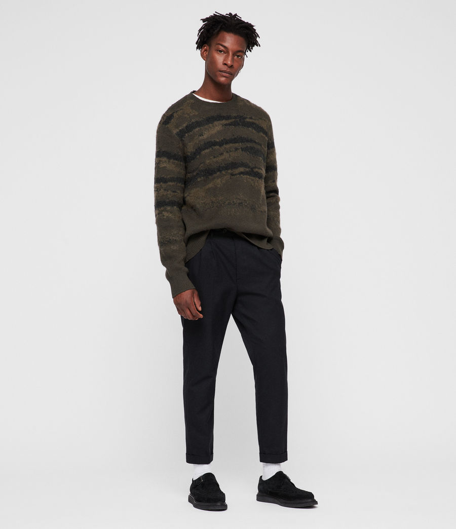 Mens Ture Crew Sweater (sandalwood_brown) - Image 3