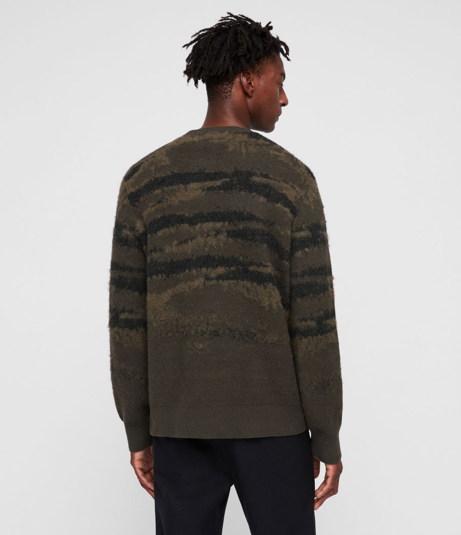 Mens Ture Crew Sweater (sandalwood_brown) - Image 4