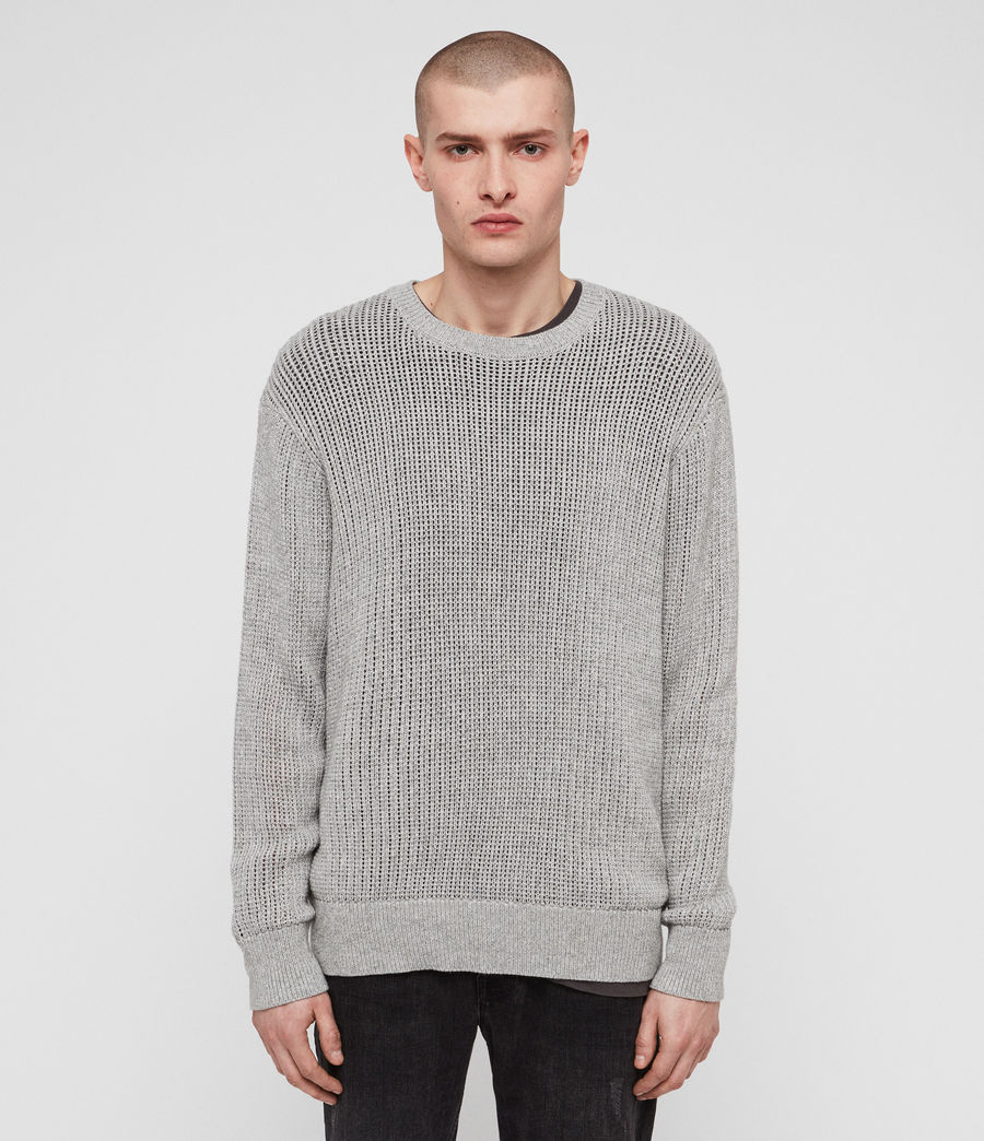 Men's Oskett Crew (grey_marl) - Image 1